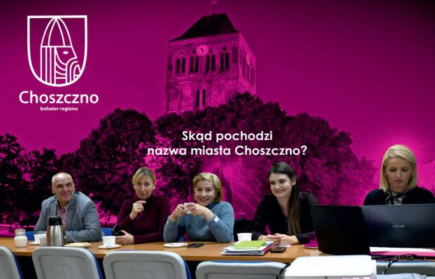 Włodarze miasta obradujący nad Systemem Identyfikacji Wizualnej Gminy Choszczno