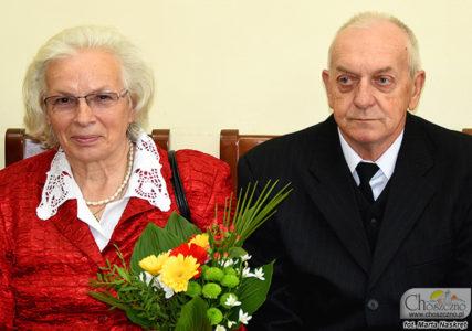 złote gody Zenobii i Waldemara Heniksów