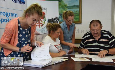 podpisanie umowy z Programu Społecznik