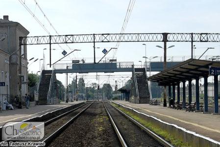 perony w Choszcznie