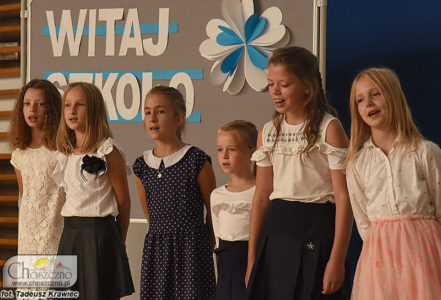 rozpoczęcie nowego roku szkolnego w Korytowie