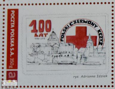znaczek pocztowy Adrianny Idziak