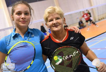 od lewej Martyna Hałajda z Dorotą Grzejdak