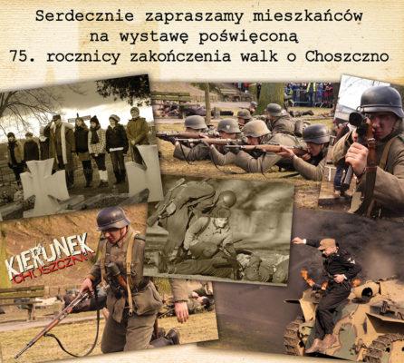 na zdjęciu zdjęcia z rekonstrukcji Kierunek Choszczno