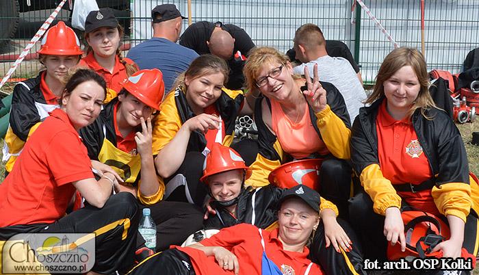 drużyna kobieca OSP Kołki