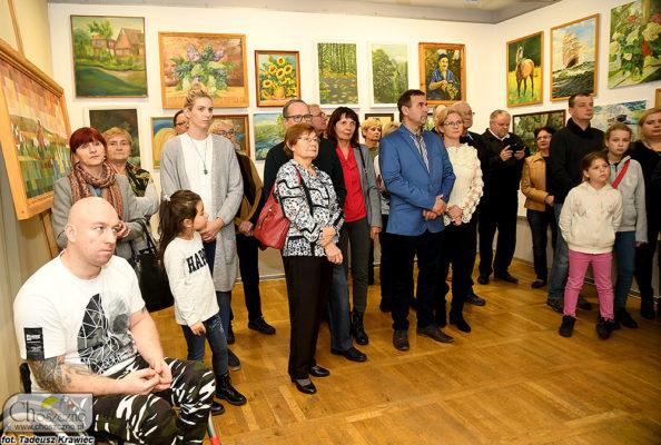 uczetnicy wystawy
