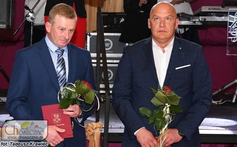 nagrodzeni w Dębach Powiatu