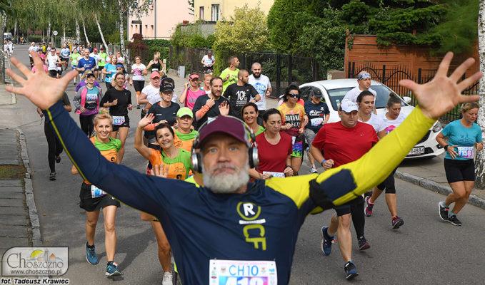biegacze podczas Choszczenskiej 10