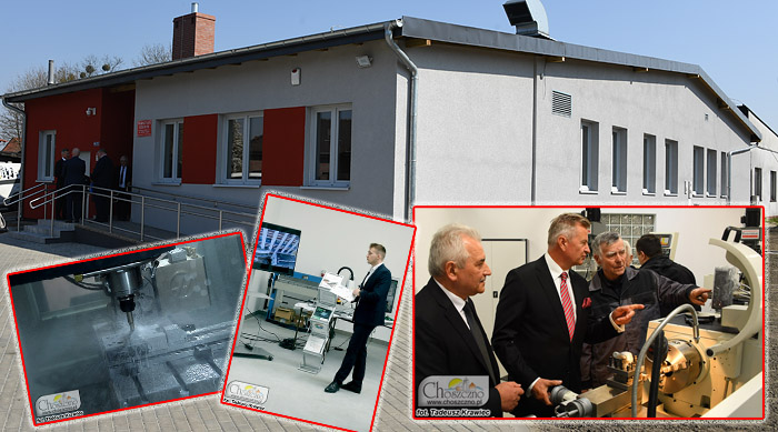 otwarcie warsztatów ZS nr 2 w Choszcznie