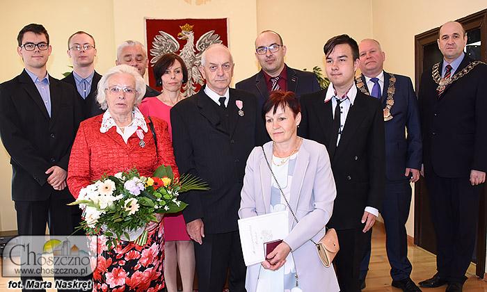 jubielusz złotych godów Zenobii i Waldemara Heniksów