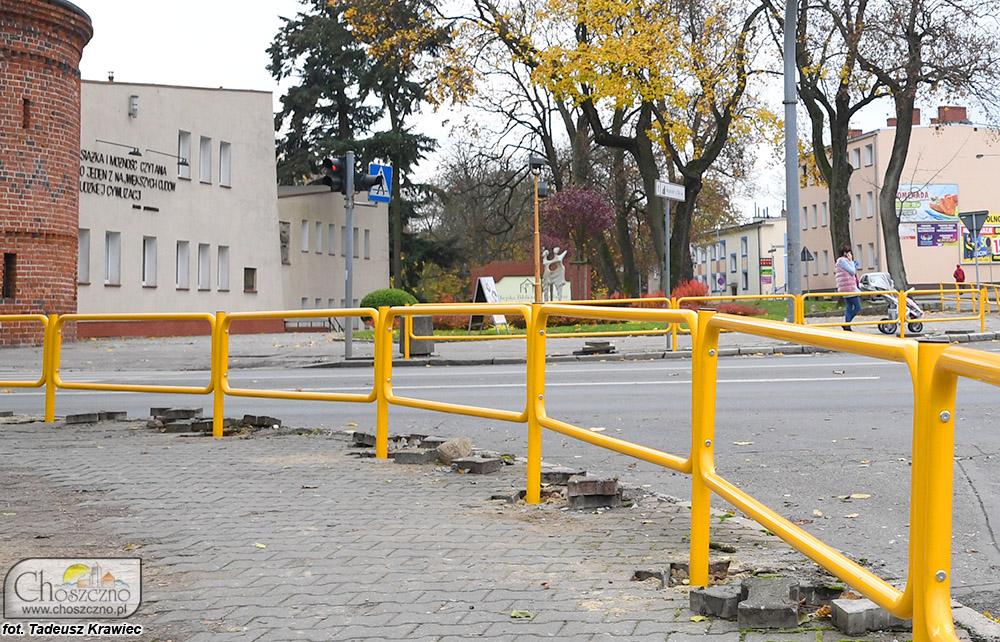 nowe barierki ochronne
