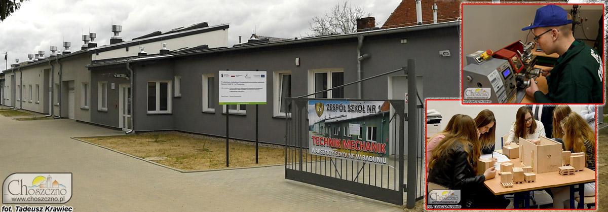 warsztaty szkolne ZS nr 1 w Choszcznie