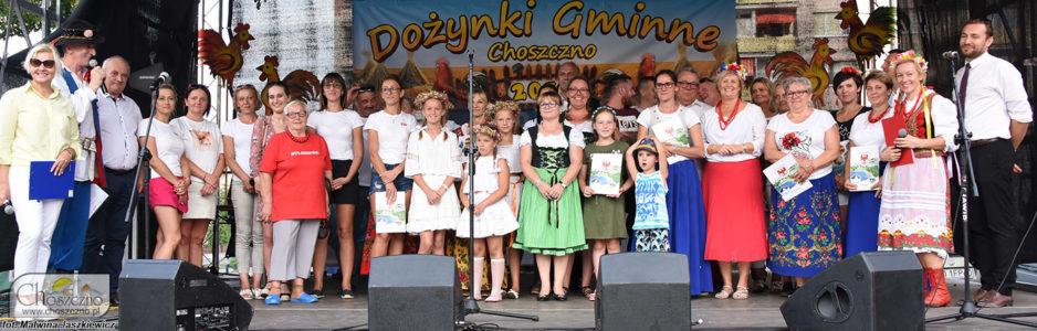 Przedstawiciele Sołectw, które brały udział w Dożynkach Gminnyvh