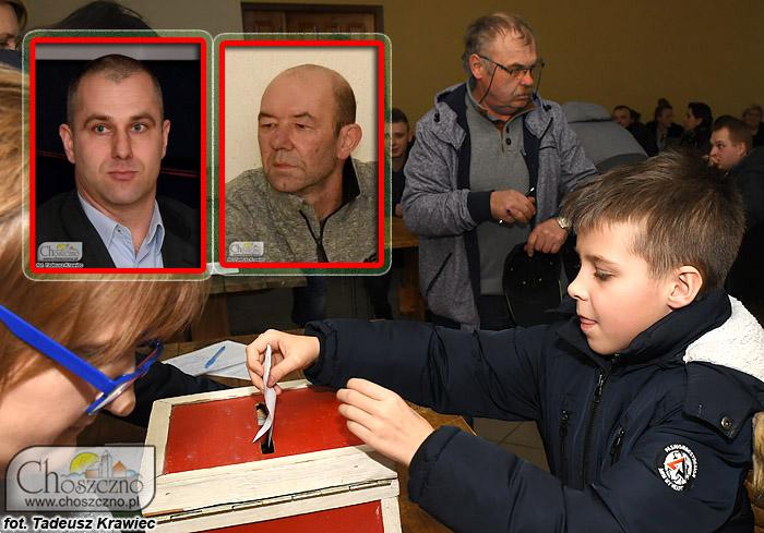 wybory sołeckie w Zamęcinie