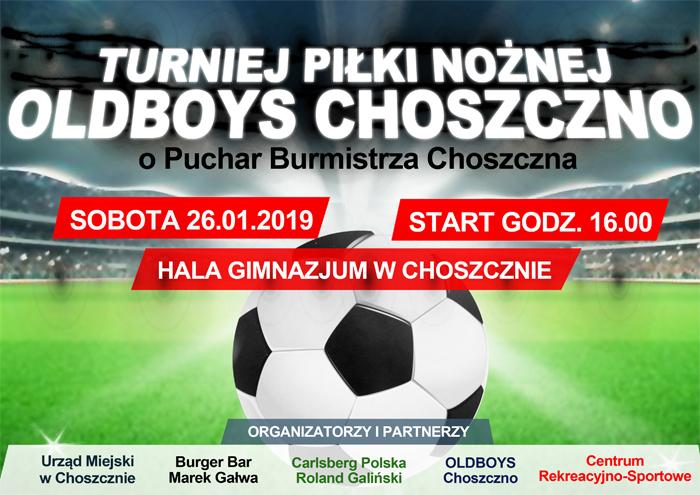 plakat meczu piłkarskiego