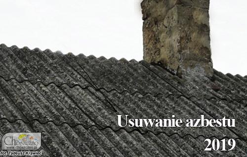 dach z azbestem