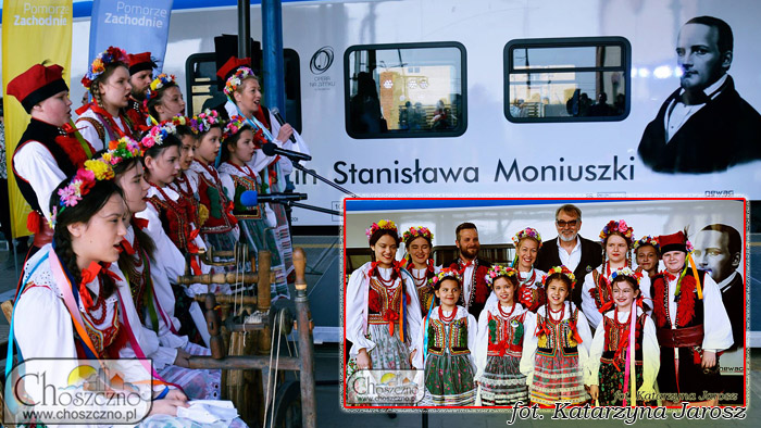 uczniowie choszczeńskiej Jedynki w strojach ludowych