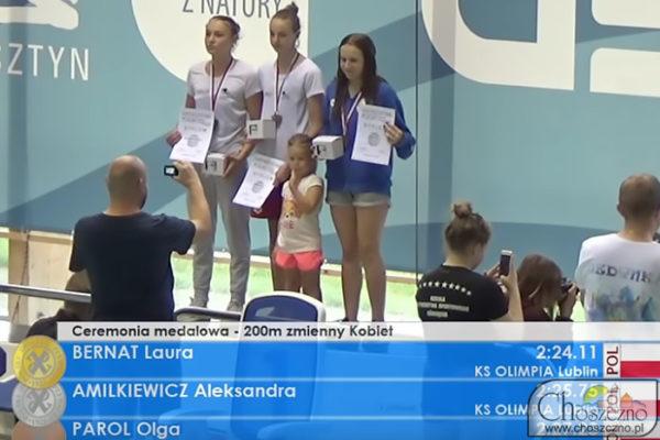 pierwsza z prawej Olga Parol była reprezentantka klubu sportowego Foka
