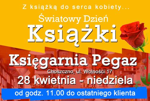 plakat Światowego Dnia Książki