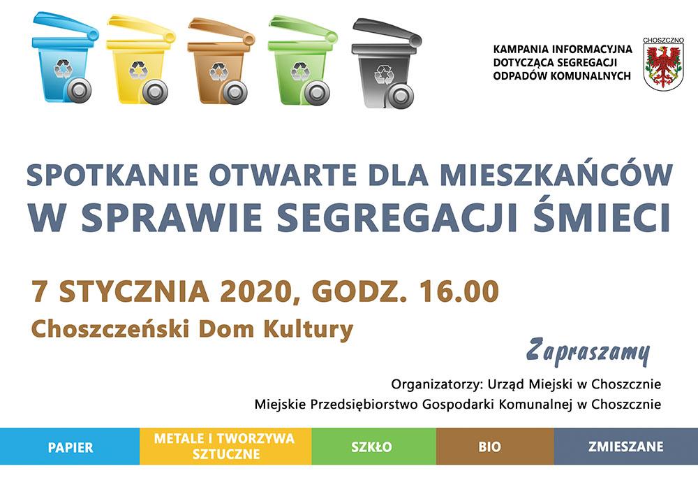plakat segregacji śmieci