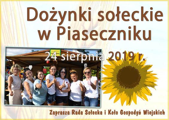 żółty słonecznik oraz panie z Koła Gospodyń Wiejskich w Piaseczniku