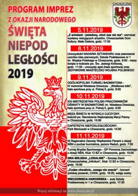 plakat obchodów 11 listopada