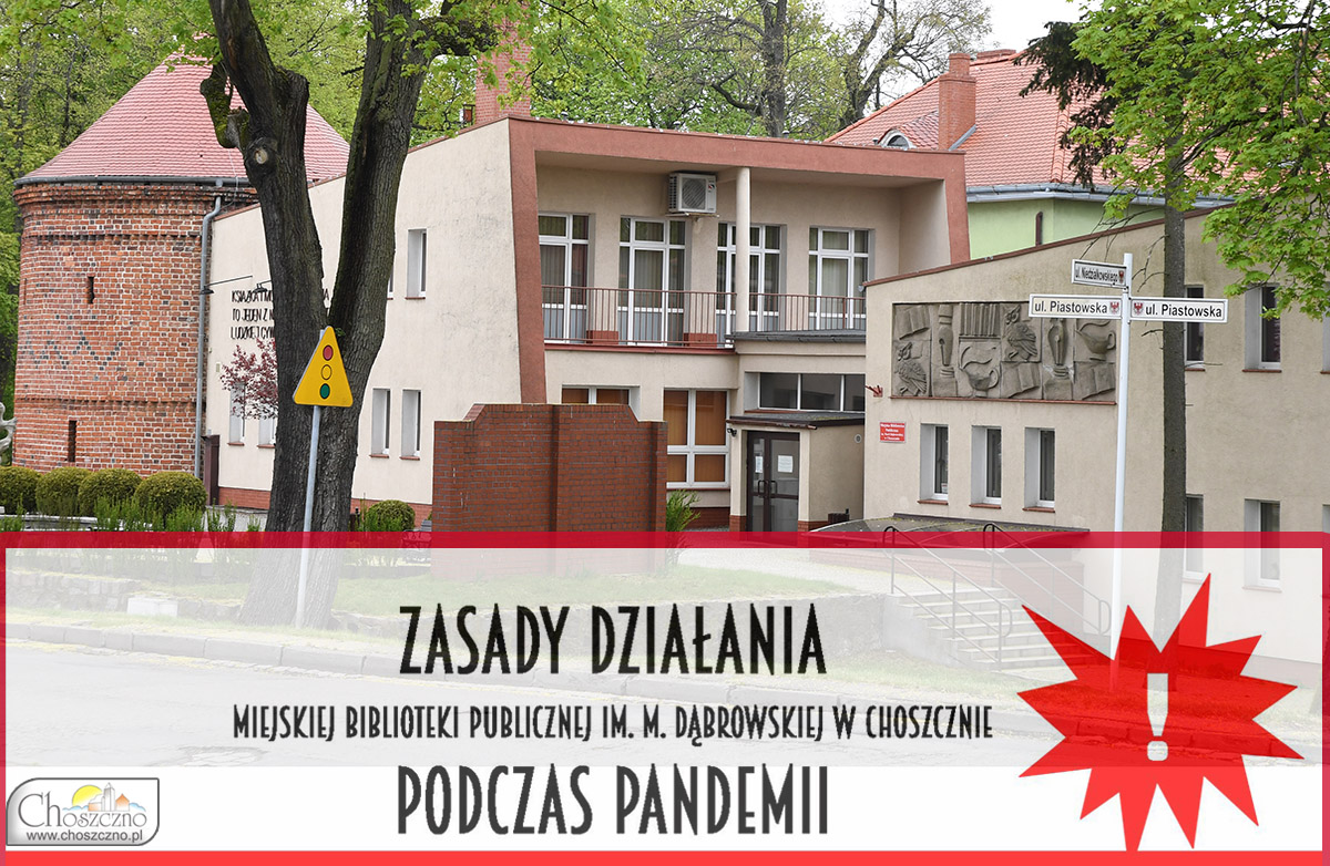 budynek biblioteki w Choszcznie
