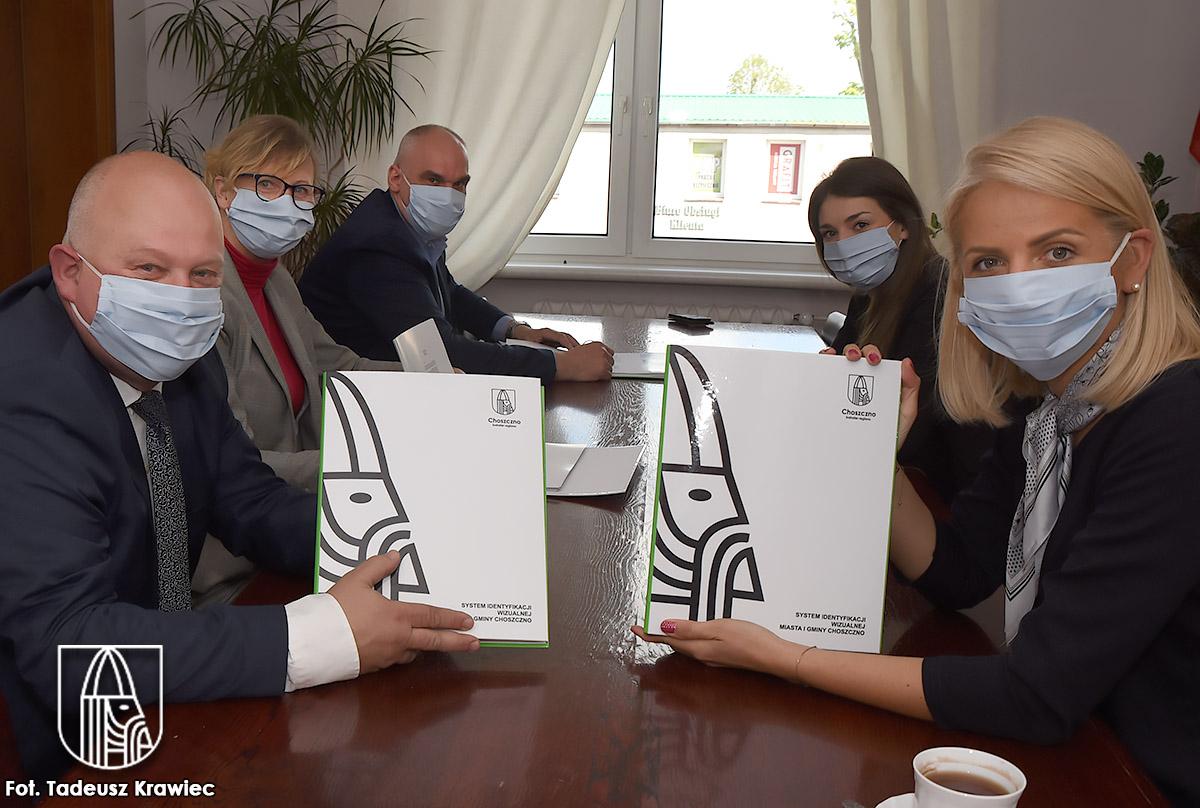 spotkanie w sprawie Systemu Identyfikacji Wizualnej Miasta i Gminy Choszczno