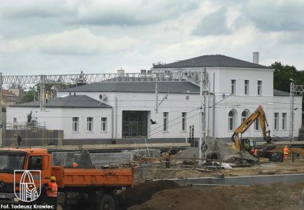 Nowa twarz dworca w Choszcznie
