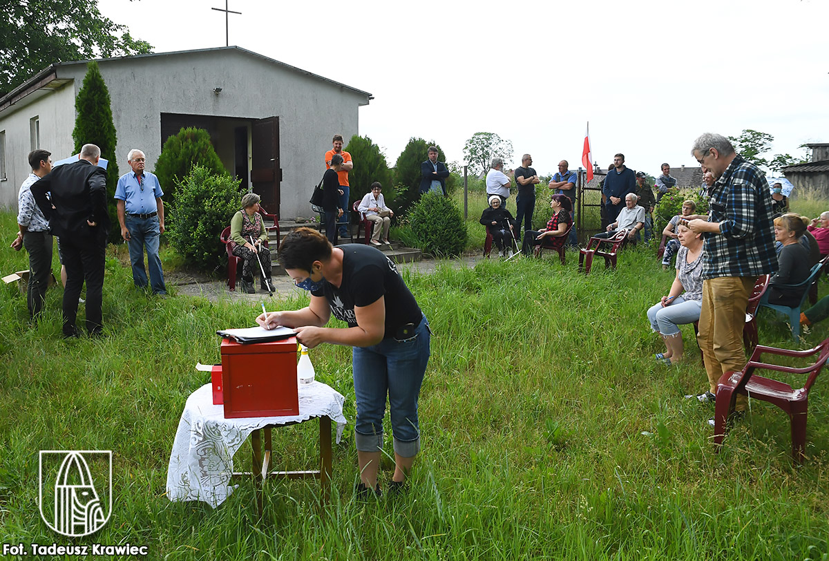 Wybory sołęckie w Krzowcu