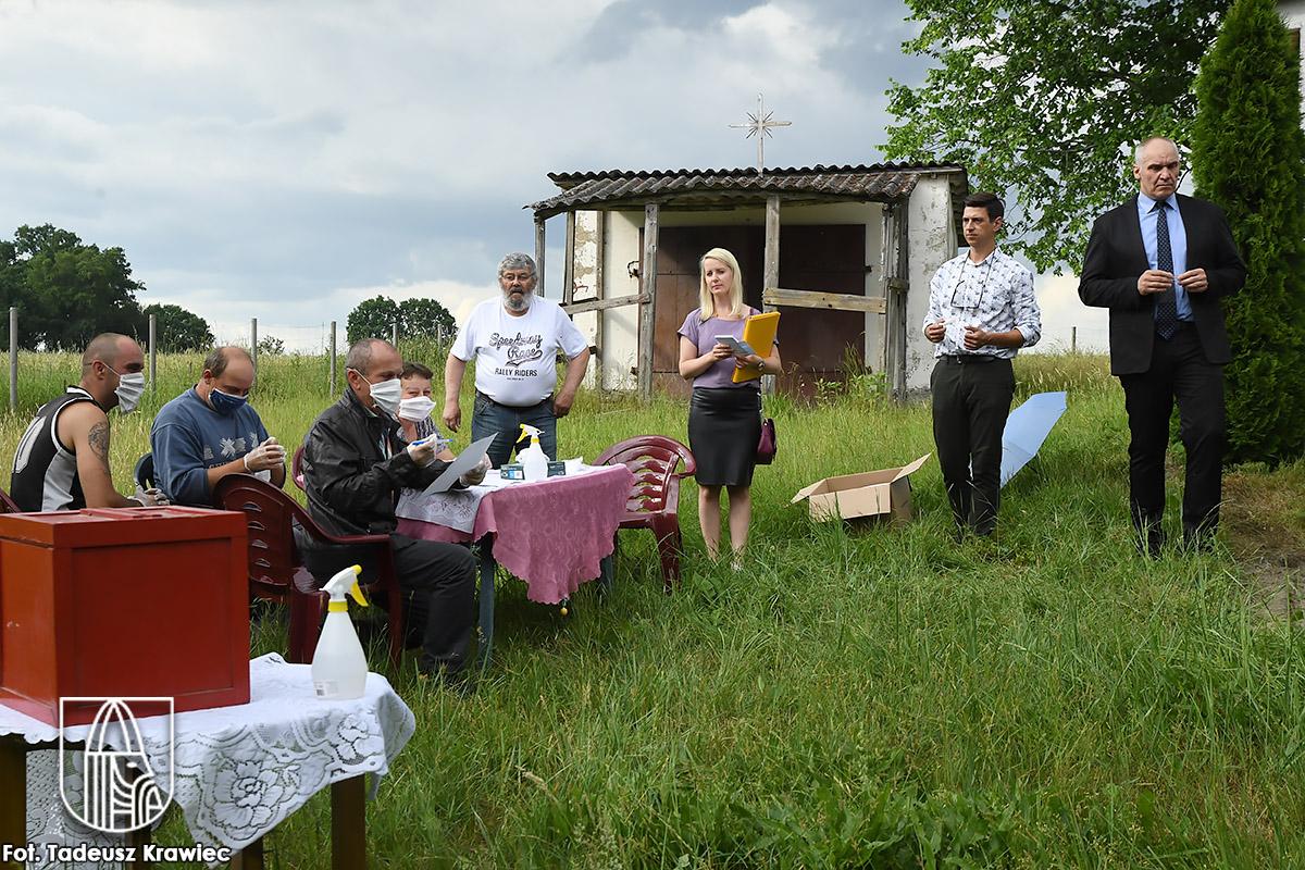 Wybory sołeckie w Krzowcu
