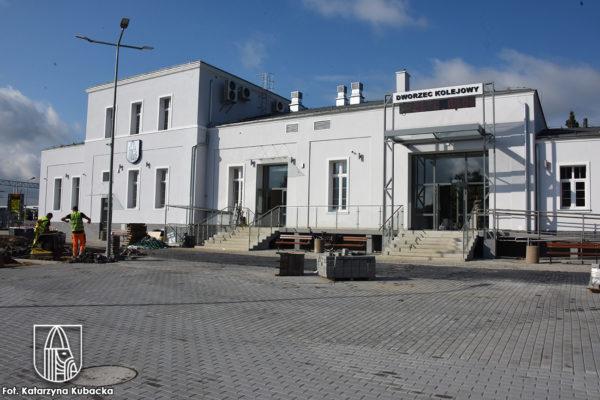 budynek dworca w Choszcznie