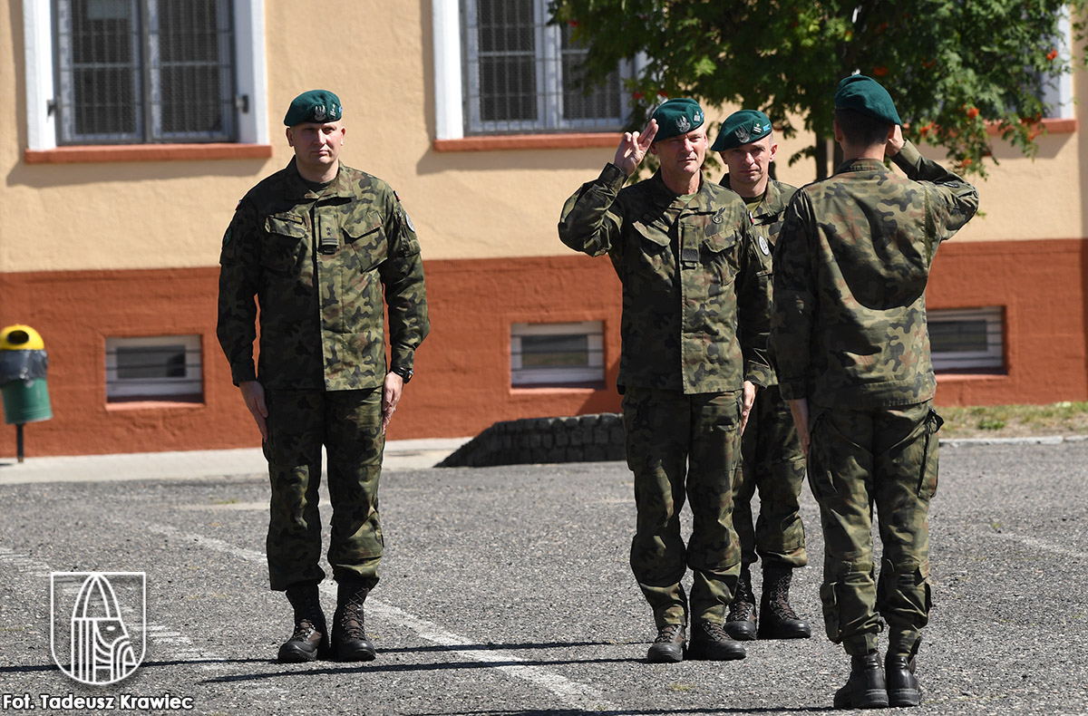 żołnierze z choszczeńskiego das