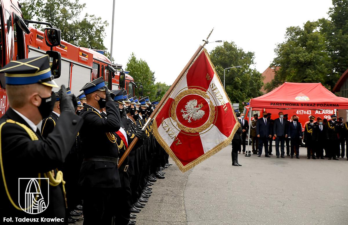 kompania reprezentacyjna straży pożarnej w Choszcznie