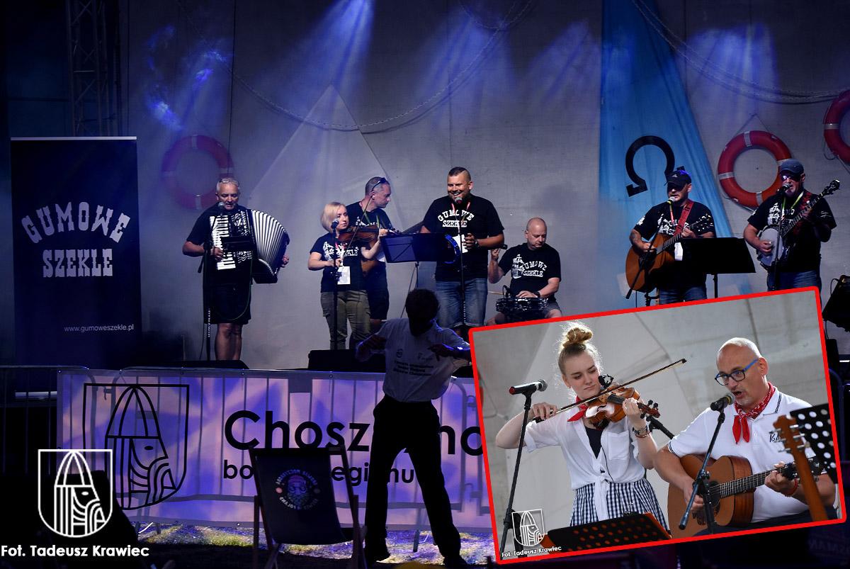 """zdjęcia z koncertu zespołów """"Gumowe Szkle"""" i """"Iga'cki Band"""""""