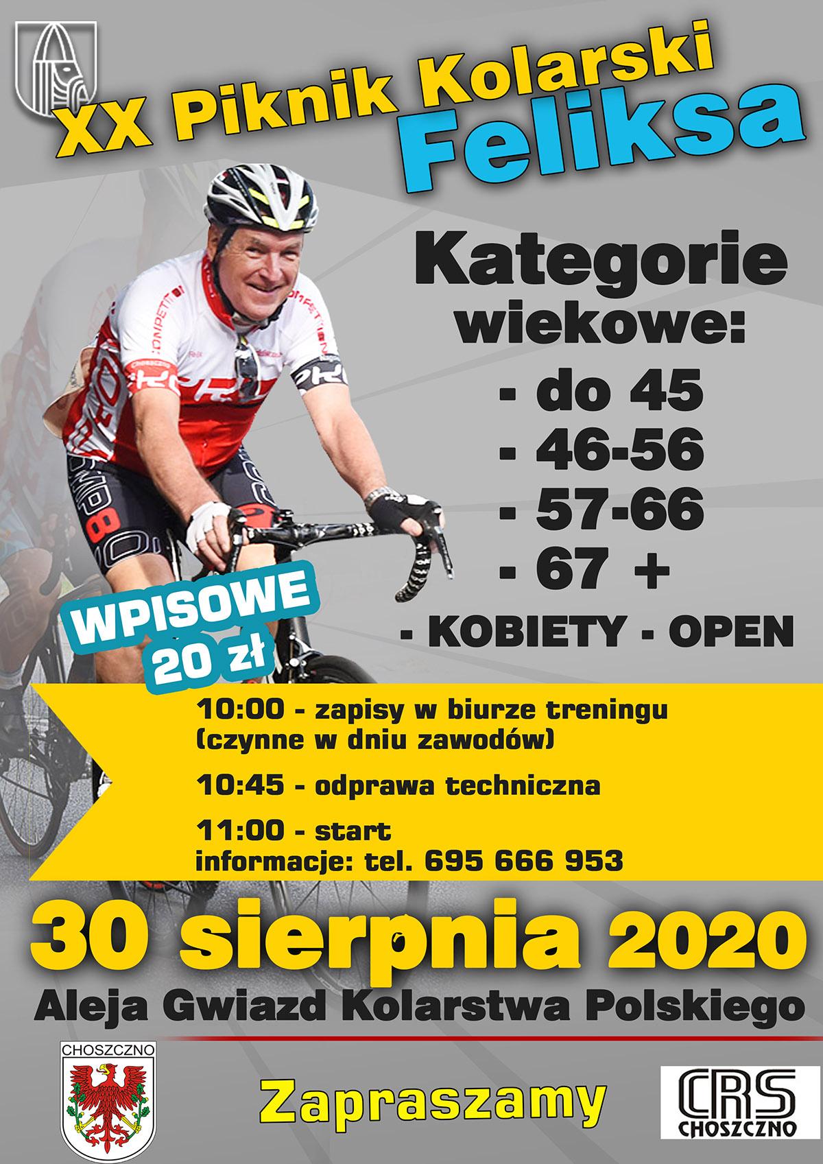 Choszczno 2020 - 20. Piknik Kolarski