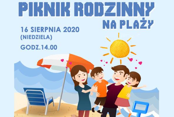 plakat pikniku rodzinnego