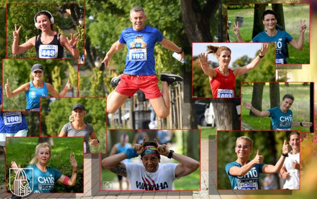 biegacze biorący udział w Choszczeńskiej Dziesiątce