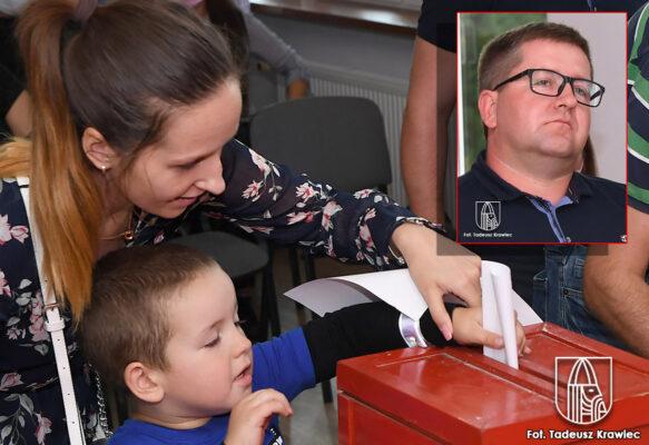 głosowanie na sołtysa Oraczewic