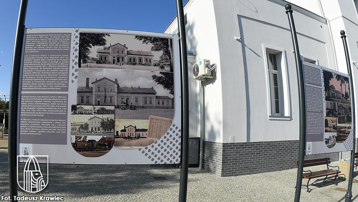 Historia choszczeńskiegio dworca