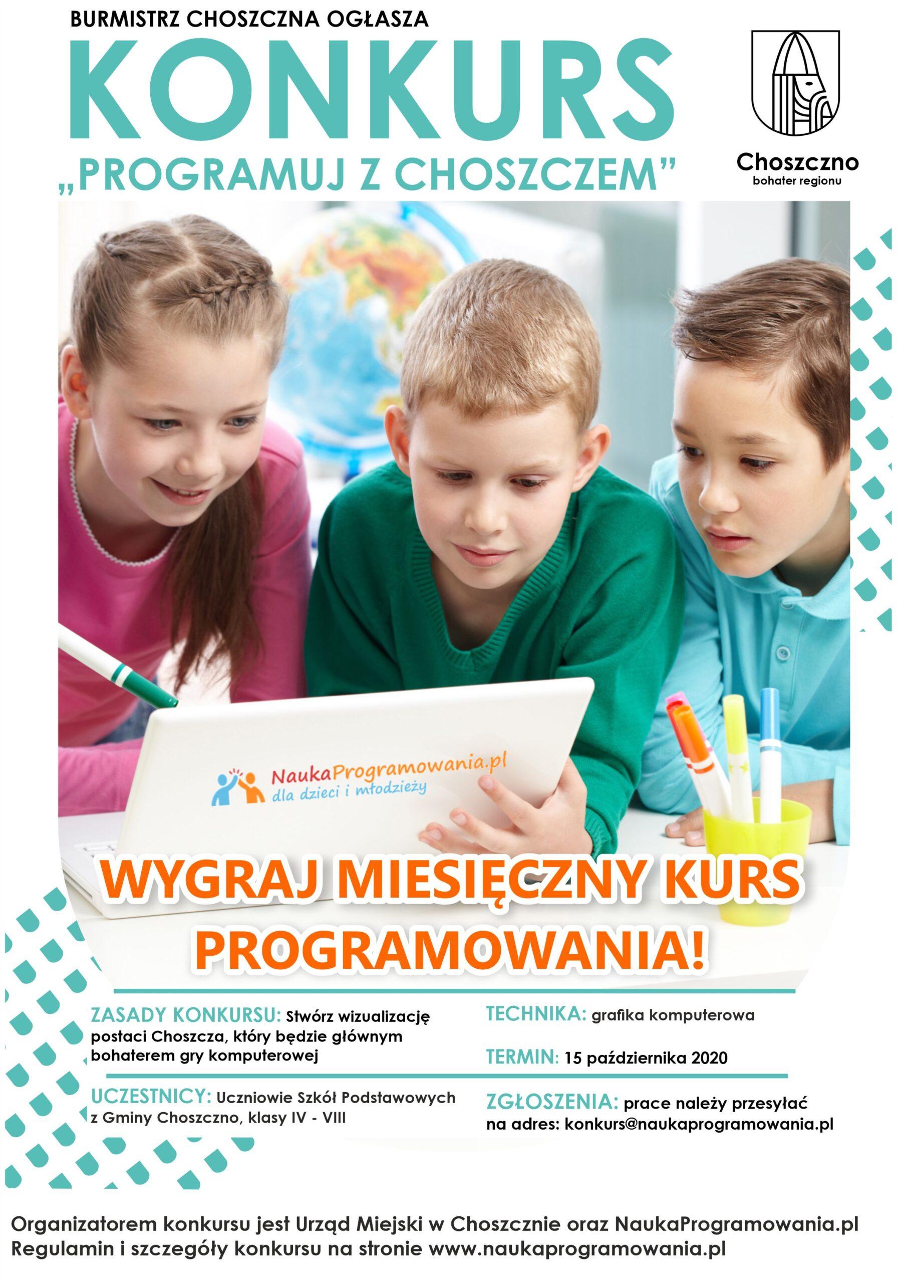 Konkurs Programuj z Choszczem