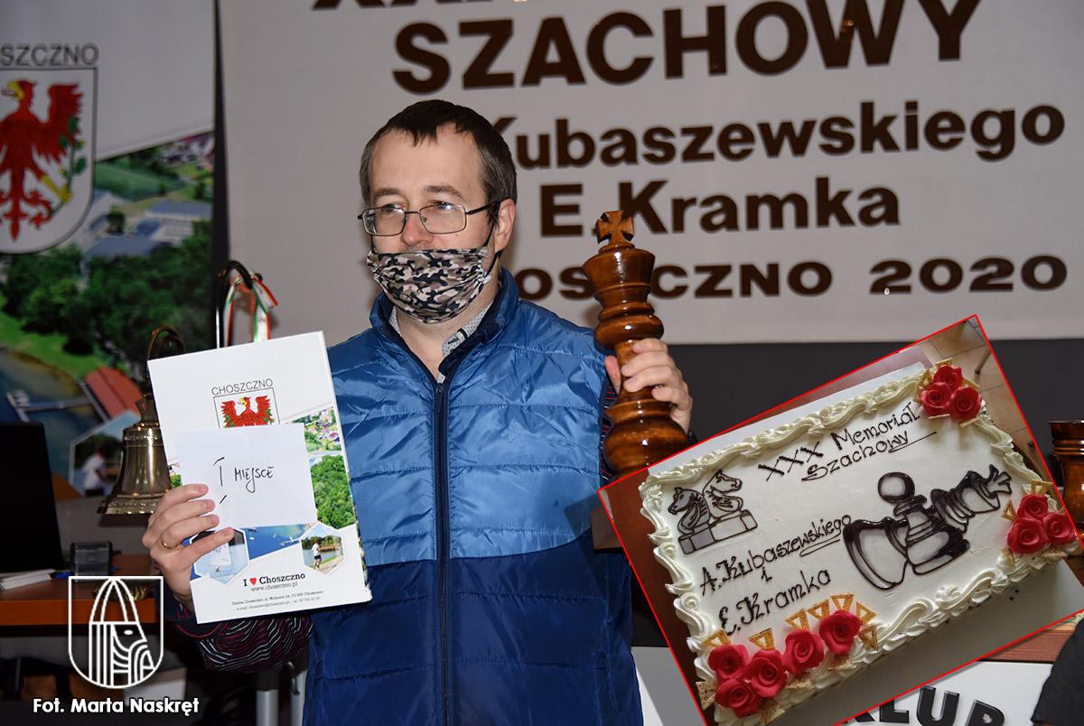 NIKOLAI ALIAVDIN najlepszy szachista XXX Memoriału Szachowego im. A. Kubaszewskiego i E. Kramka
