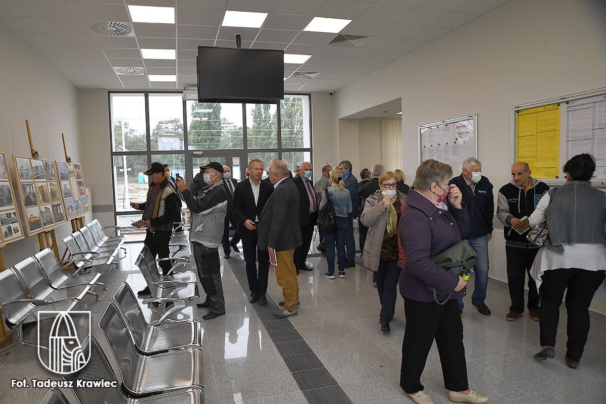 Choszczno - dworzec już otwarty