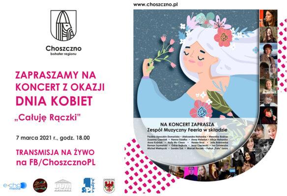 baner koncert z okazji dnia kobiet