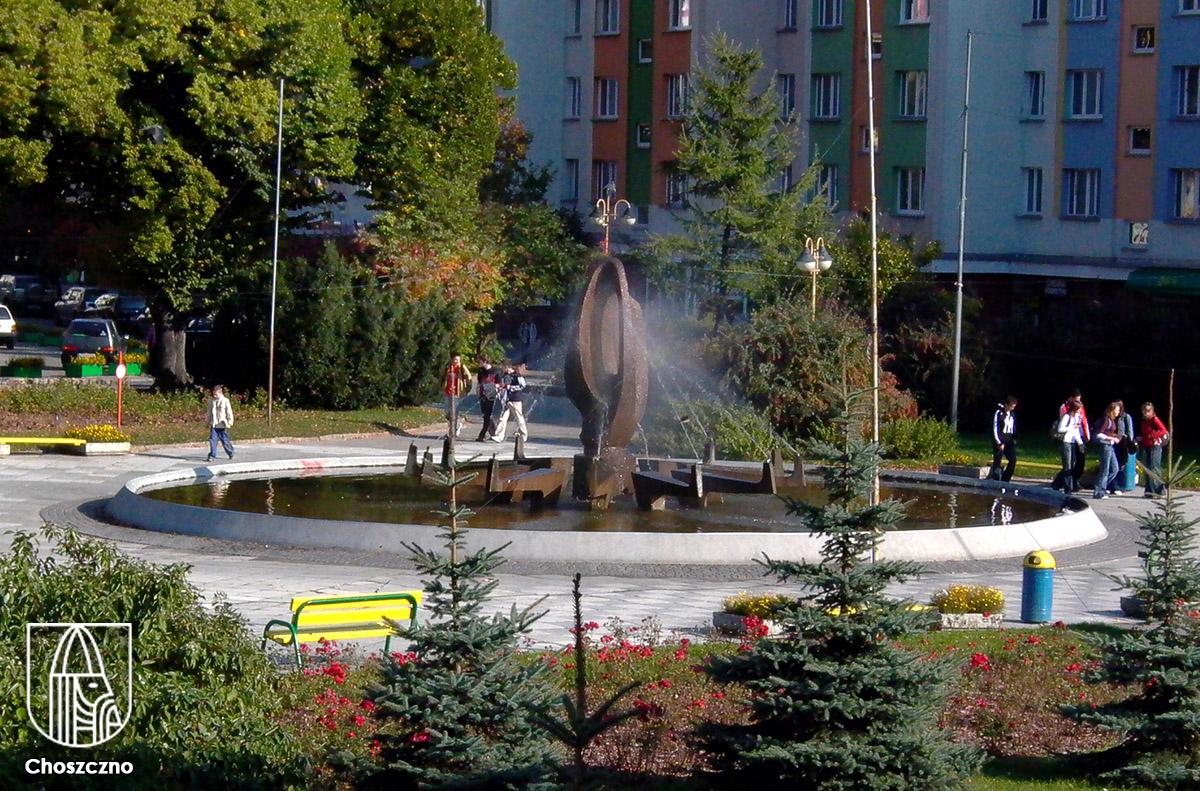 Choszczno - Czas na fontannę