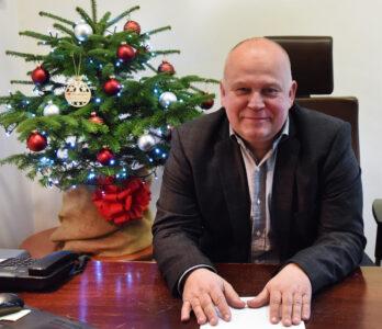 Robert Adamczyk burmistrz Choszczna