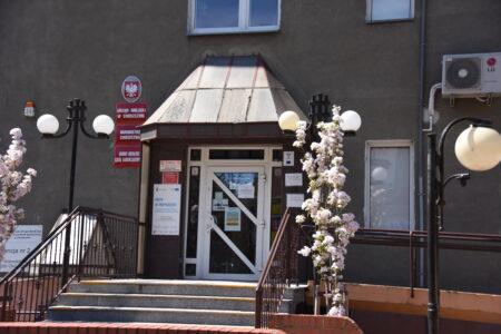 wejście główne do urzędu