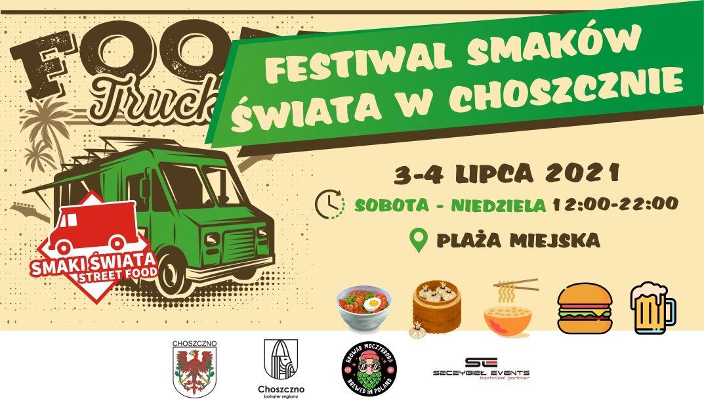 festiwal foodtruckó Choszczno